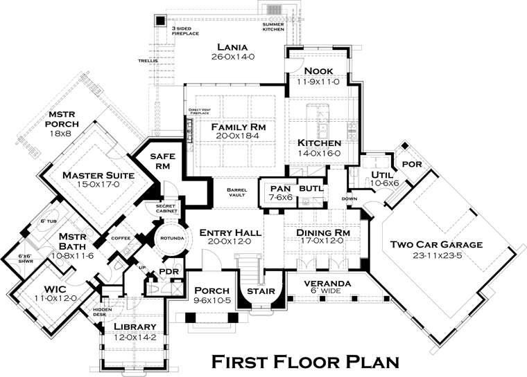luxury custom home floor plans italian tuscan floor plan from abg alpha builders 25062