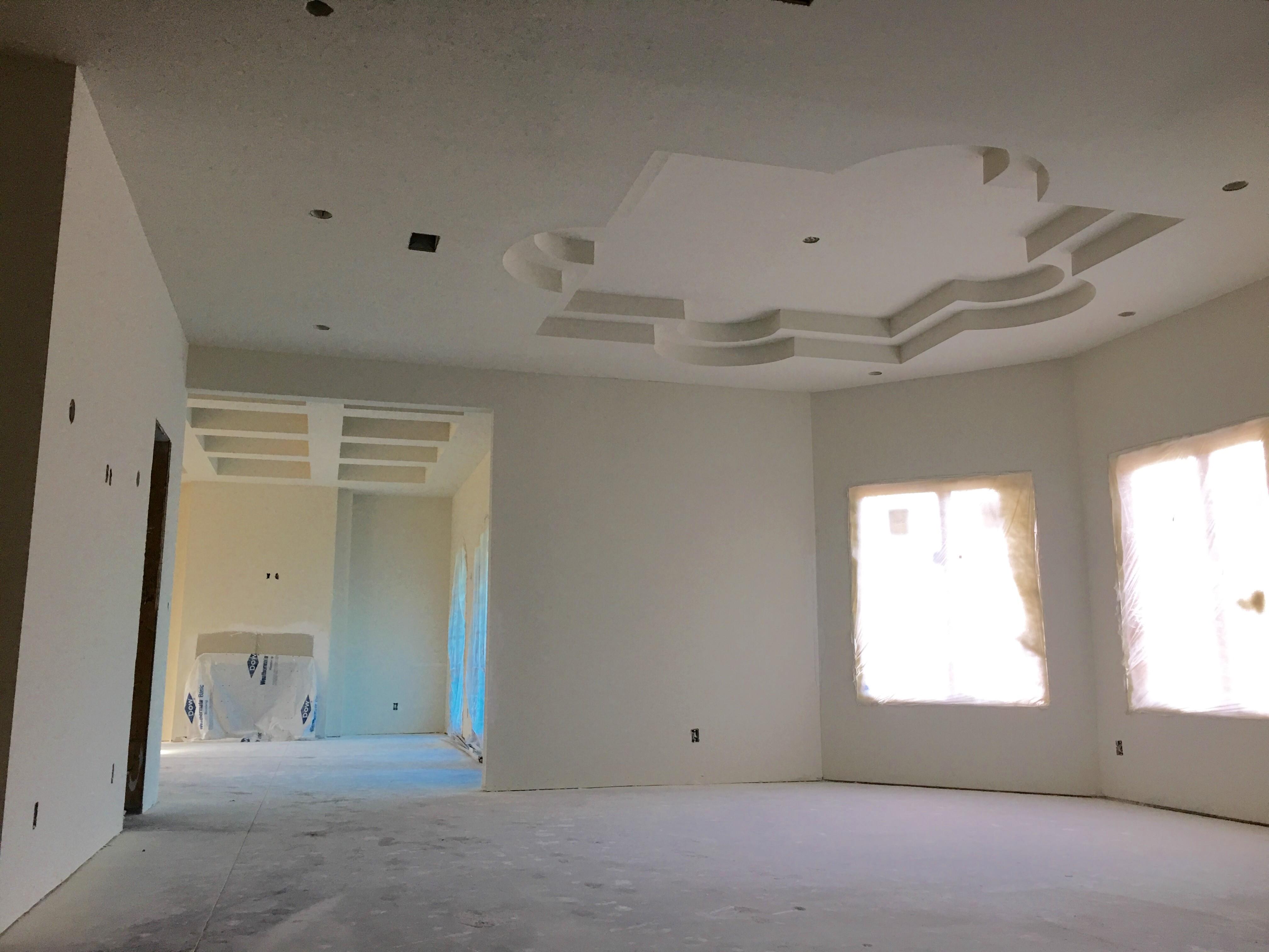 Alpha Builders Group Custom Home Builder Drywall Level 5