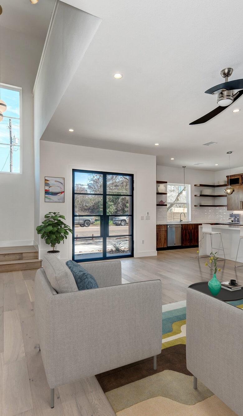 AlphaBuildersGroup-Modern-Homes-on-Tillery-Custom-Kitchen-Living-Room-Space