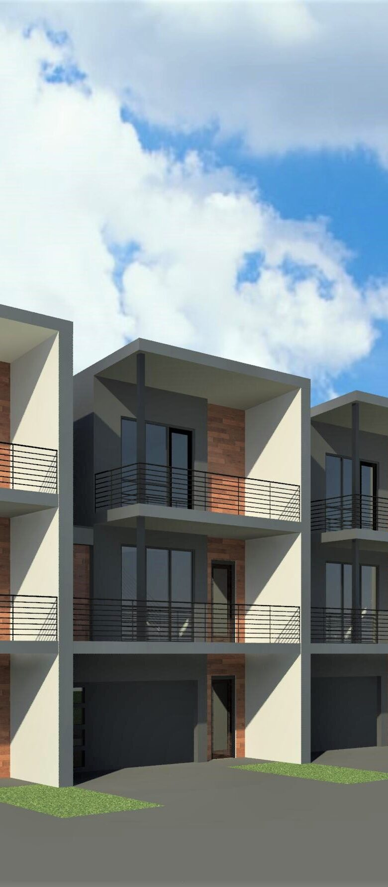 Alpha-Bulders-Group-New-Townhomes-South-Lamar-Austin-Texas-Rendering